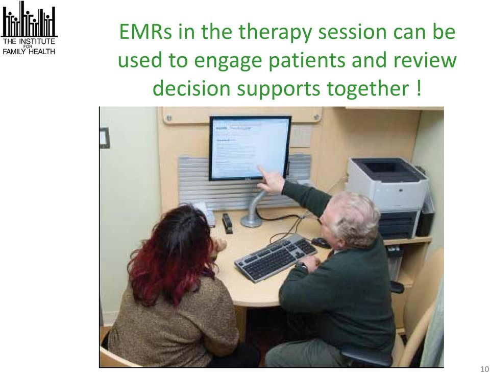 engage patients and