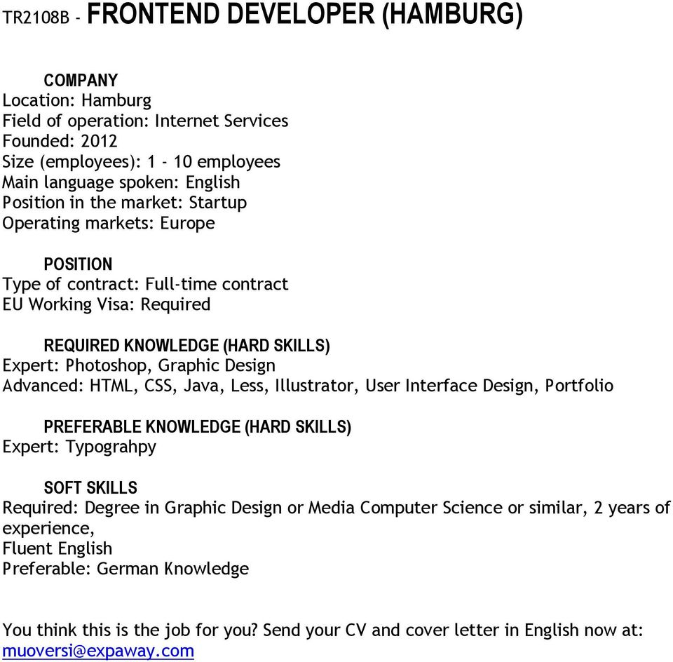 User Interface Design, Portfolio Expert: Typograhpy Required: Degree in Graphic Design or