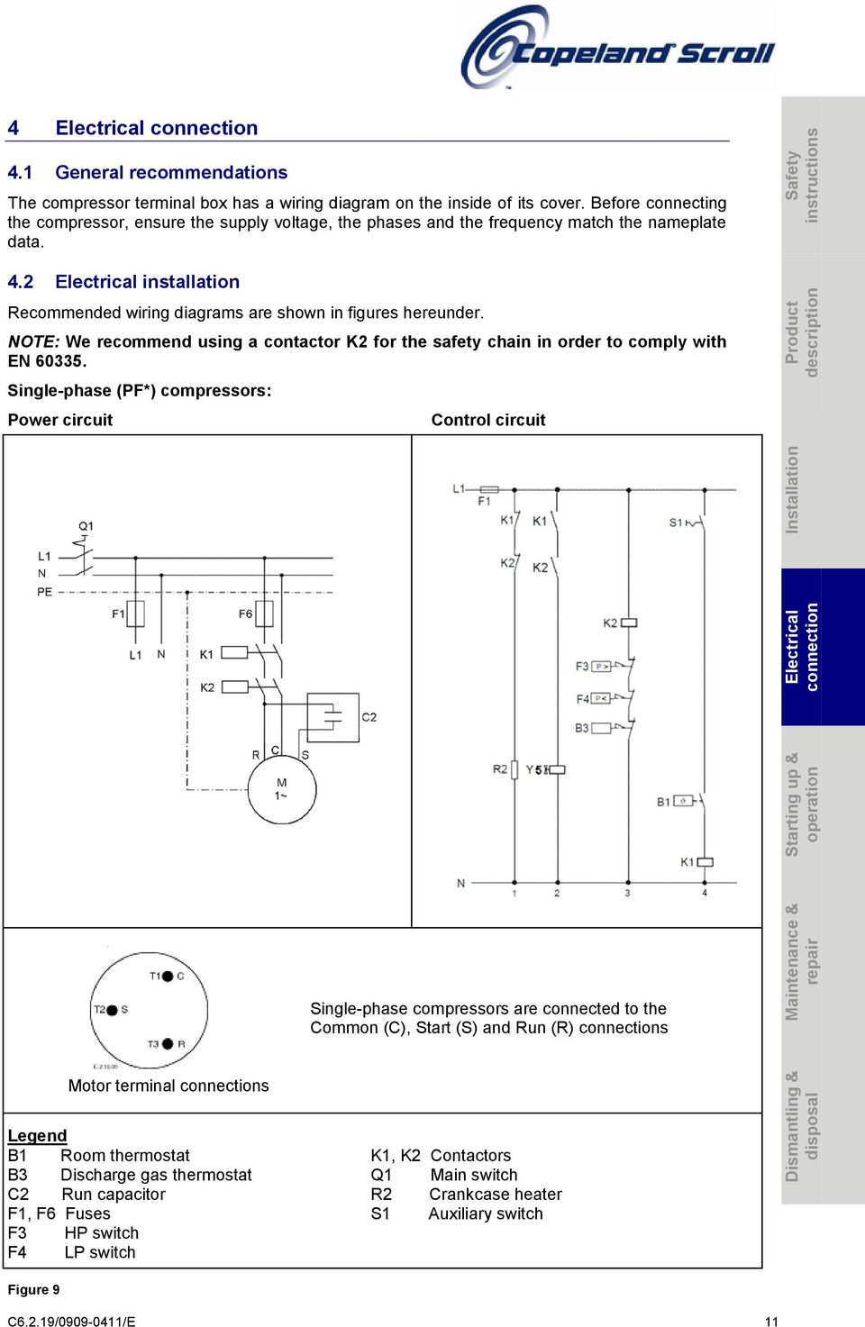 Scroll Compressors for Air Conditioning ZR18K* to ZR380K ... on