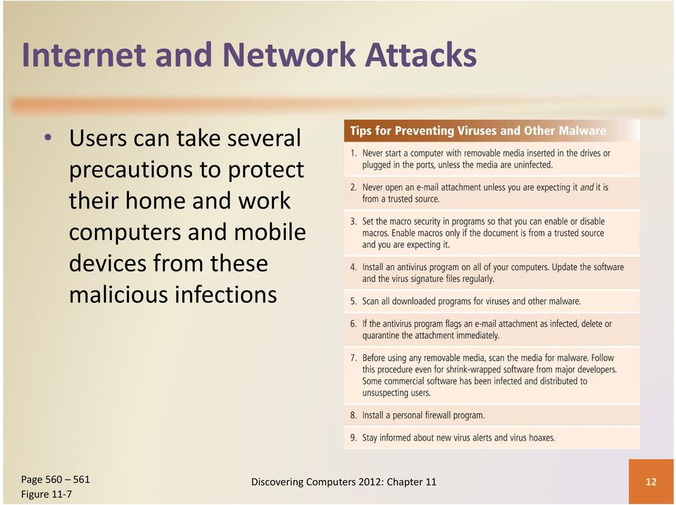 and mobile devices from these malicious infections Page