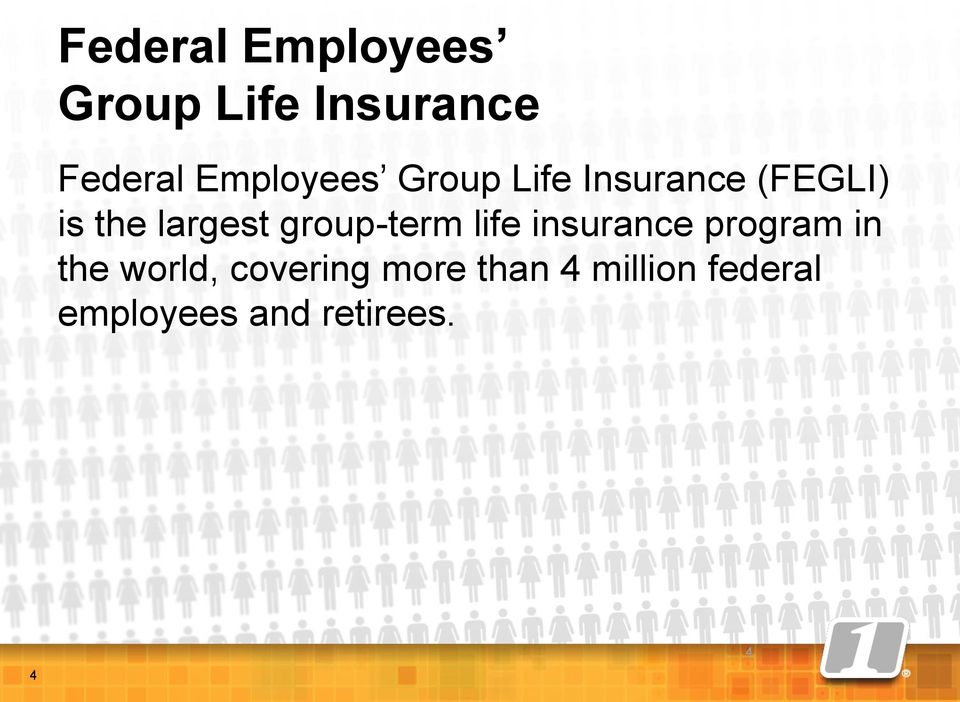 group-term life insurance program in the world,