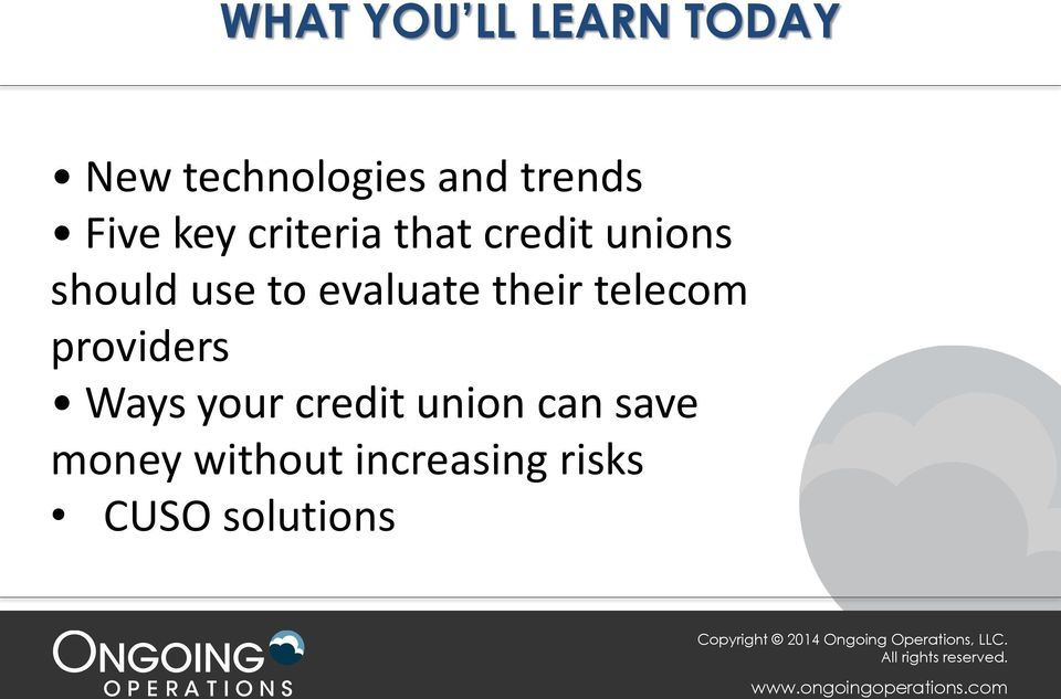 evaluate their telecom providers Ways your credit