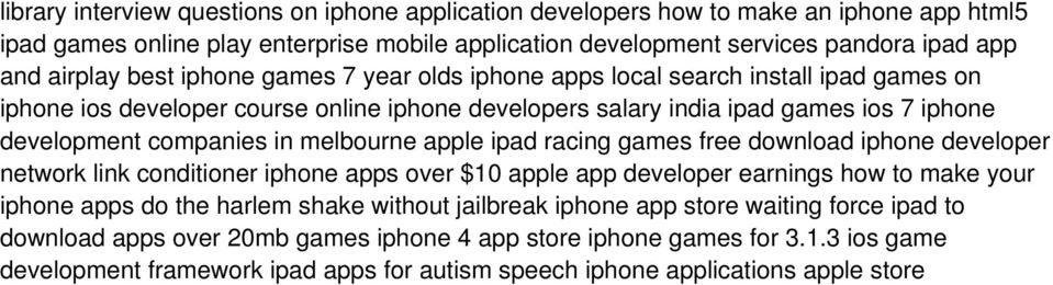melbourne apple ipad racing games free download iphone developer network link conditioner iphone apps over $10 apple app developer earnings how to make your iphone apps do the harlem shake without