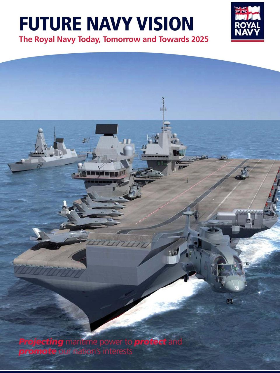 Projecting maritime power to