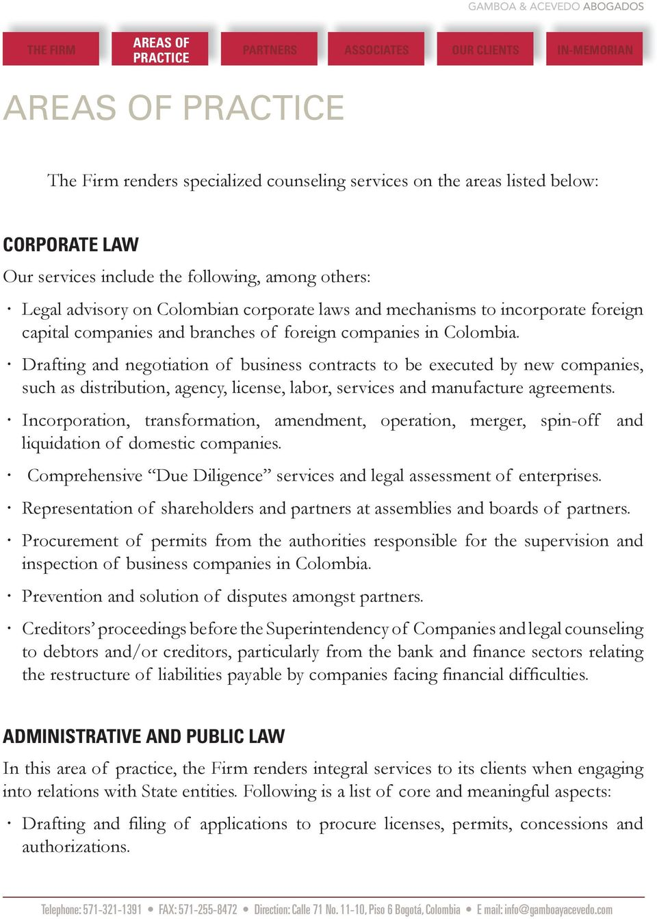 Drafting and negotiation of business contracts to be executed by new companies, such as distribution, agency, license, labor, services and manufacture agreements.