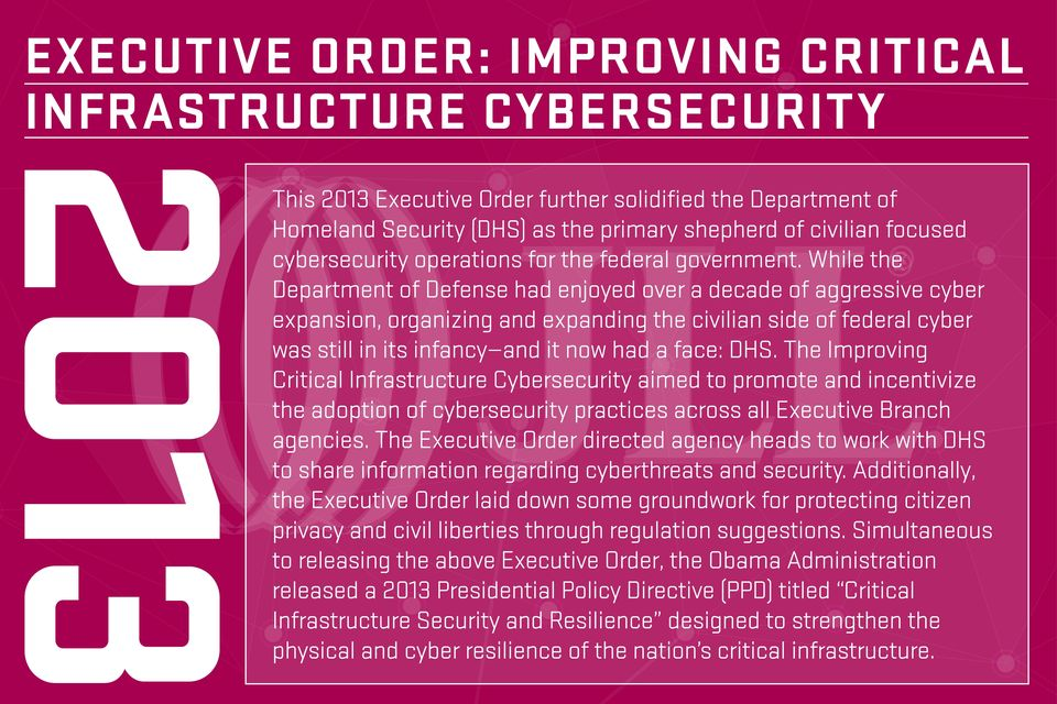 While the Department of Defense had enjoyed over a decade of aggressive cyber expansion, organizing and expanding the civilian side of federal cyber was still in its infancy and it now had a face: