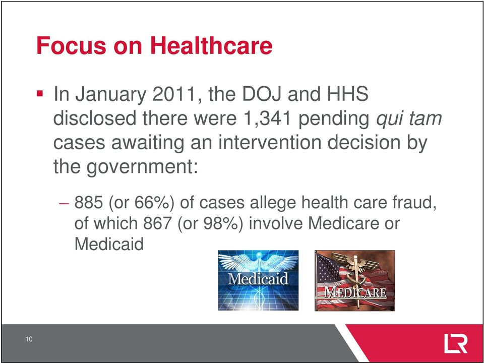 decision by the government: 885 (or 66%) of cases allege health