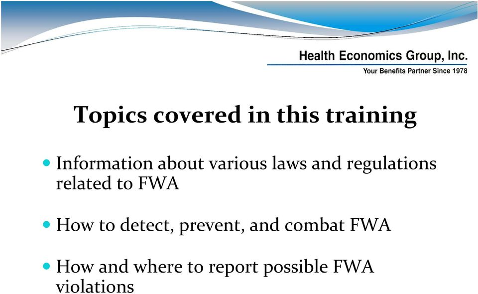 to FWA How to detect, prevent, and combat