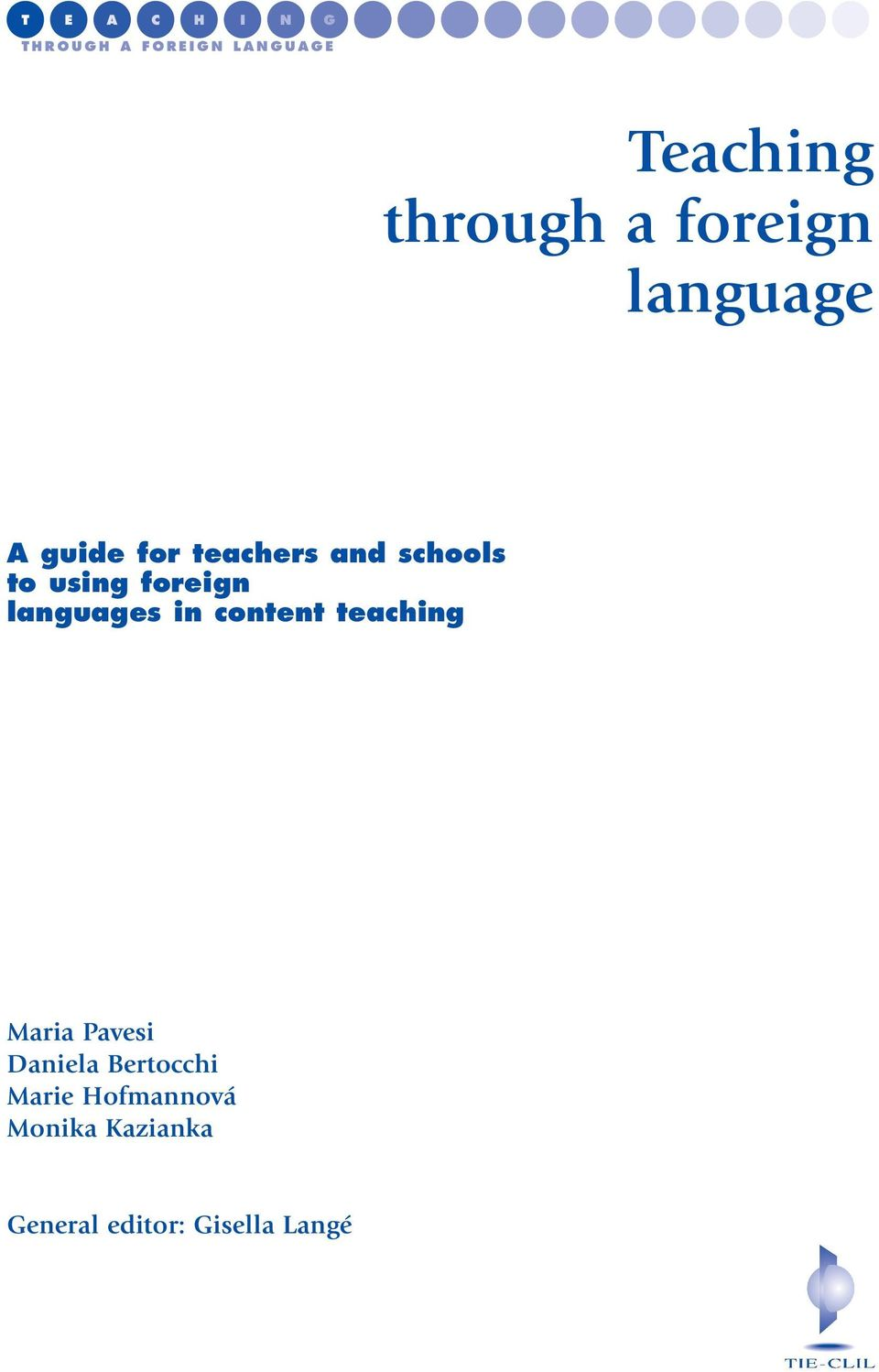 languages in content teaching Maria Pavesi Daniela
