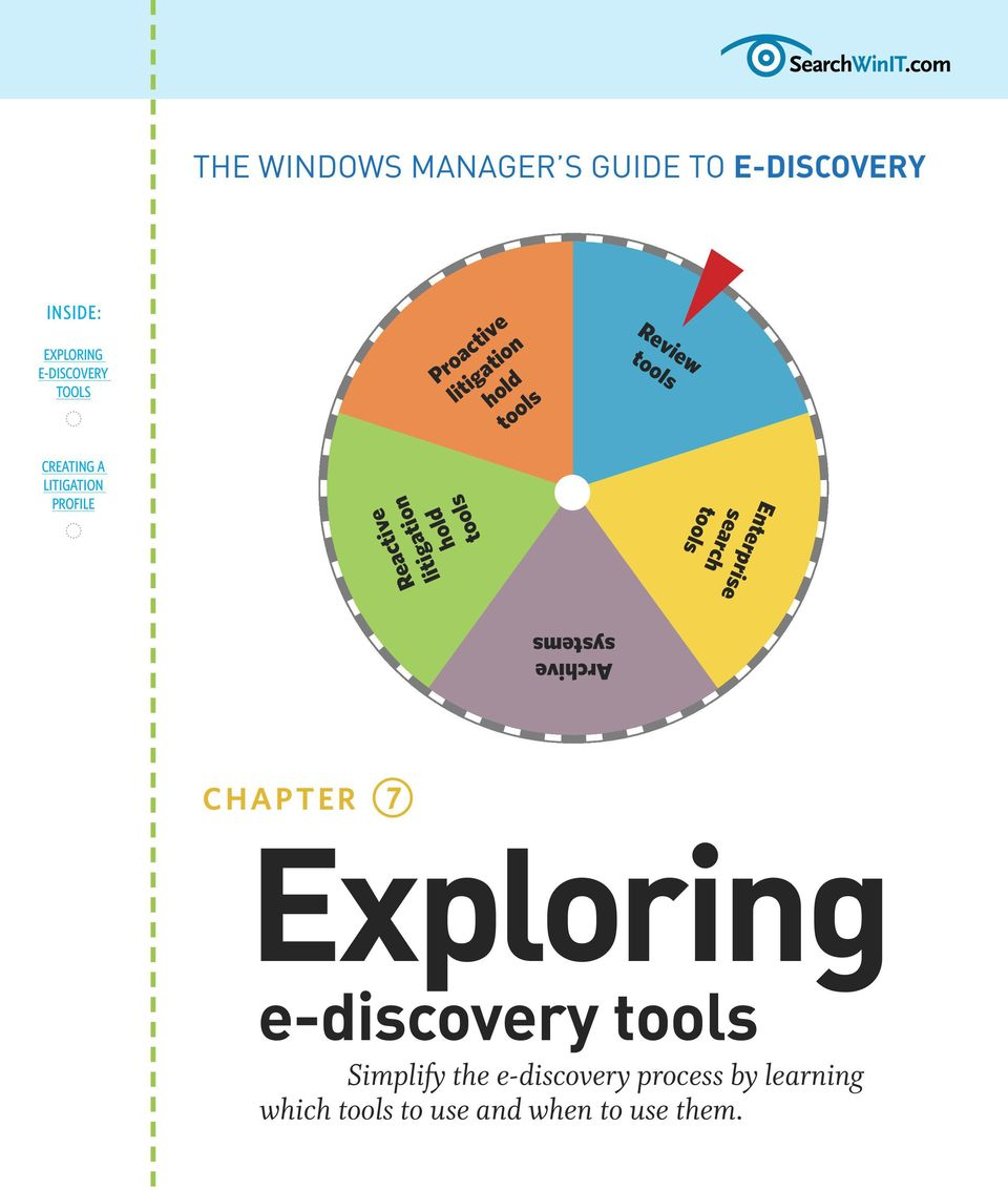 tools Archive systems CHAPTER Exploring e-discovery tools Simplify