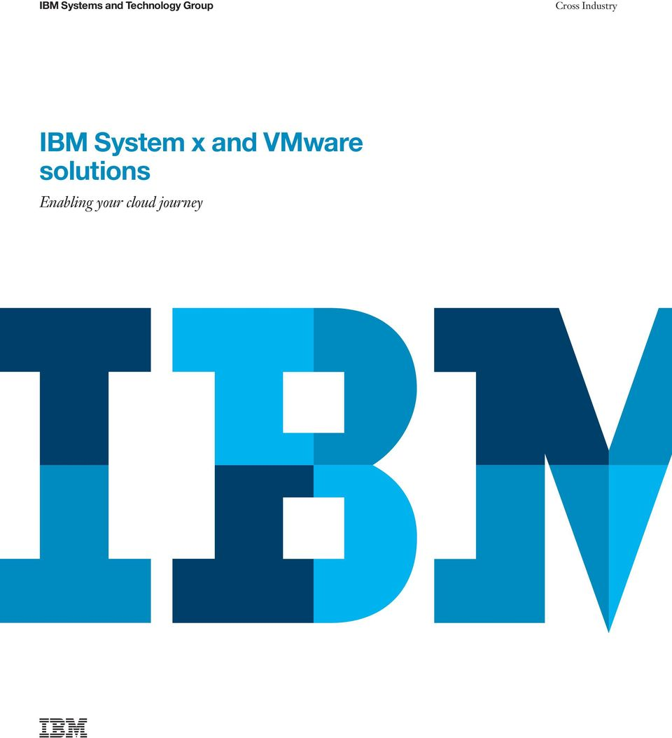 System x and VMware