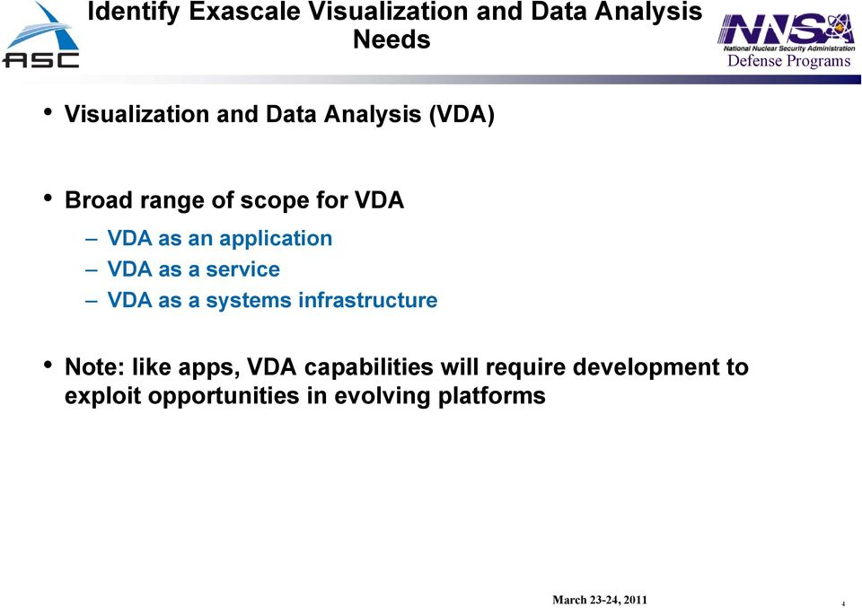 as a service VDA as a systems infrastructure Note: like apps, VDA