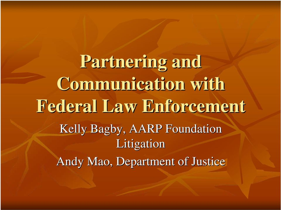 Kelly Bagby, AARP Foundation