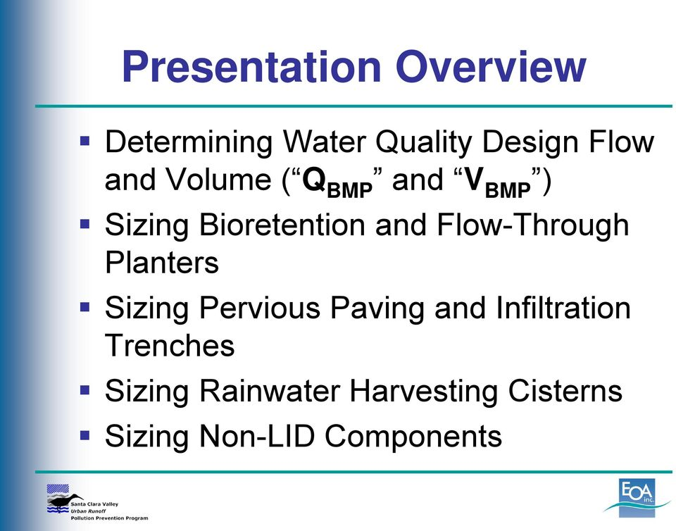 Flow-Through Planters Sizing Pervious Paving and Infiltration