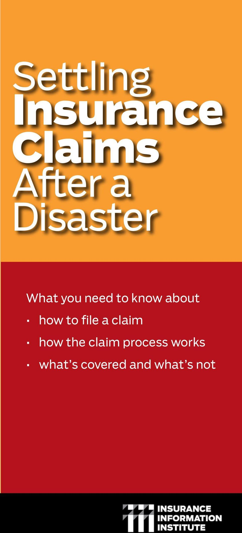 how to file a claim how the claim