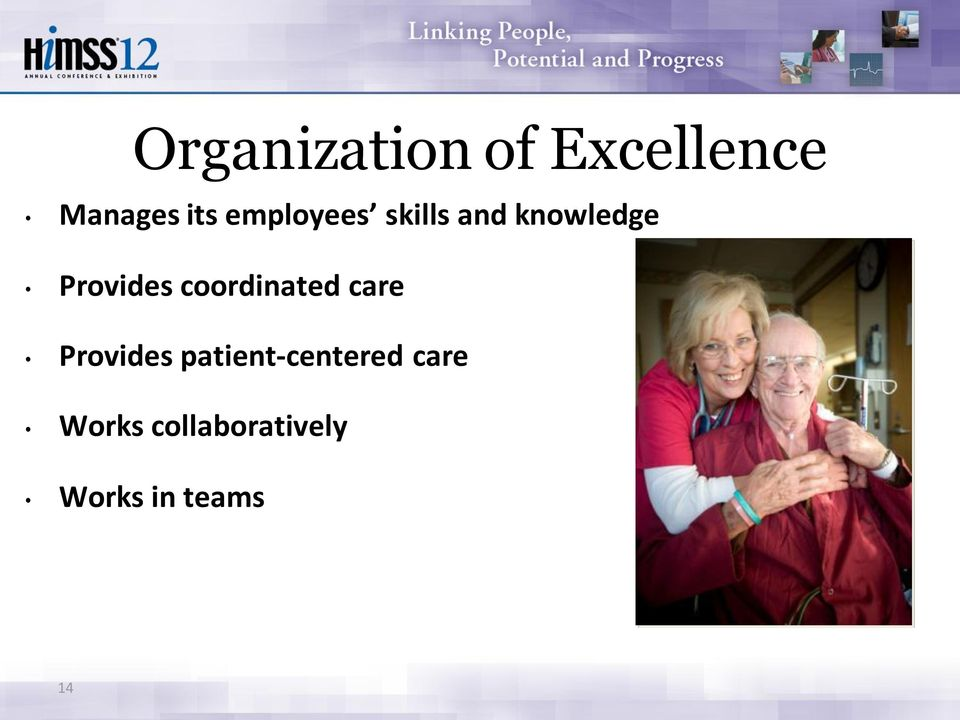 coordinated care Provides
