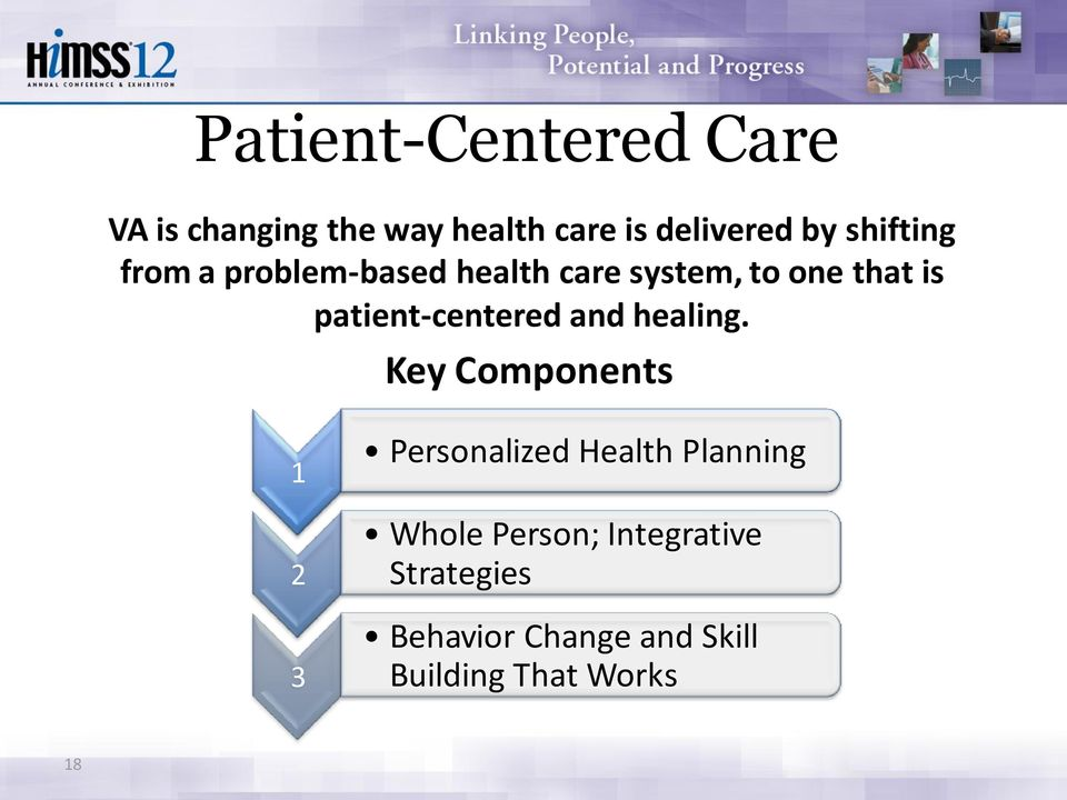patient-centered and healing.
