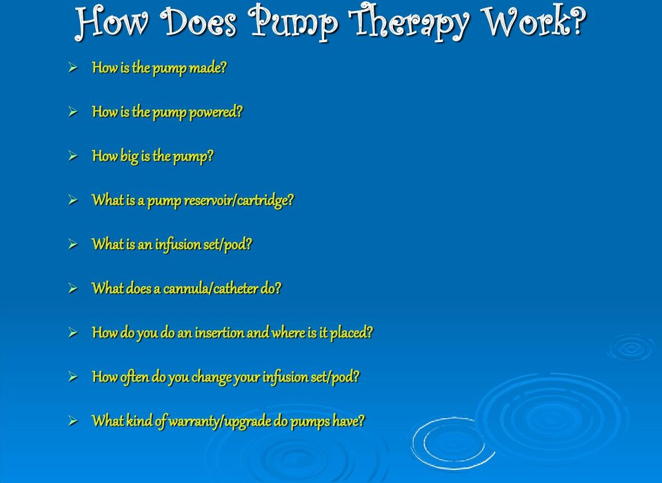What is an infusion set/pod? What does a cannula/catheter do?