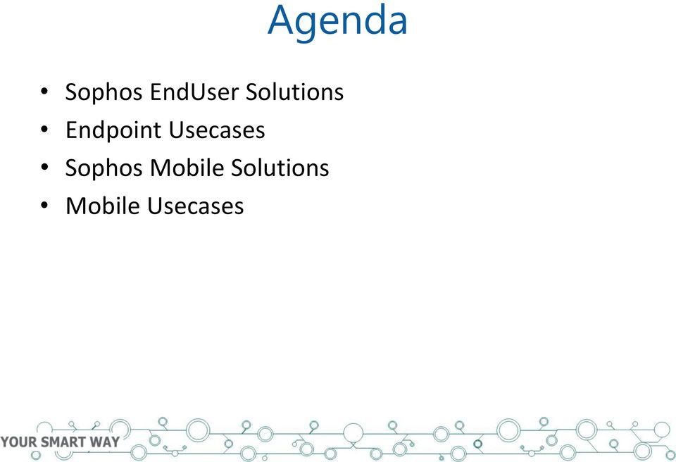 Usecases Sophos Mobile