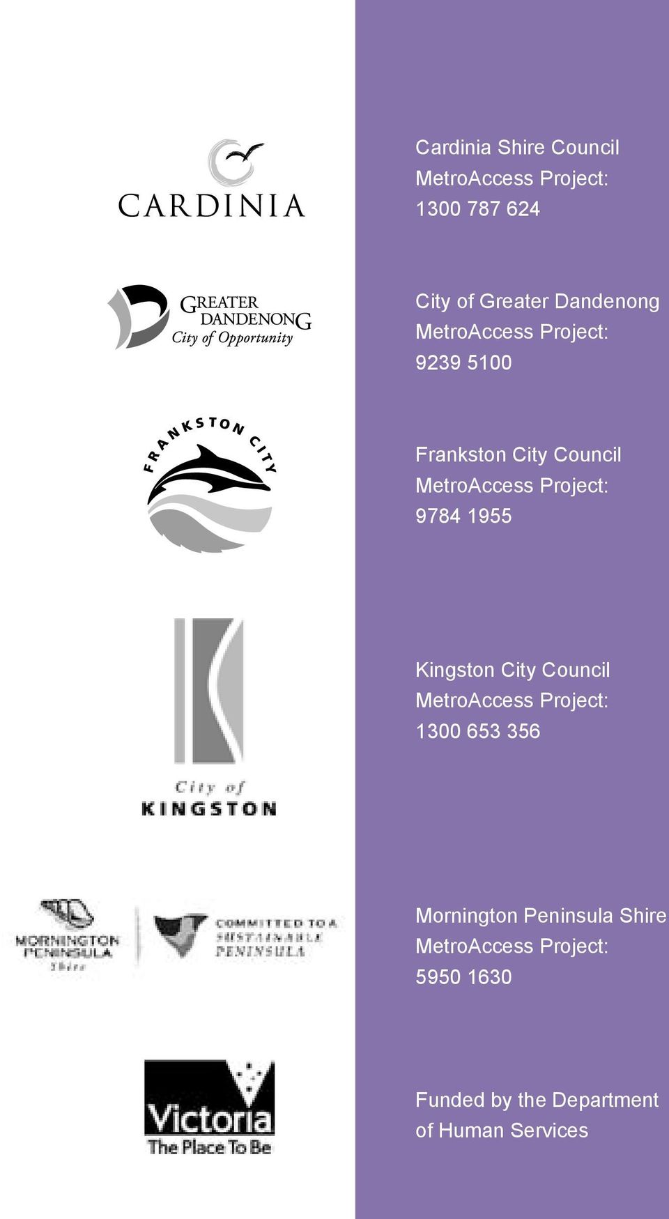 Kingston City Council 1300 653 356 Mornington