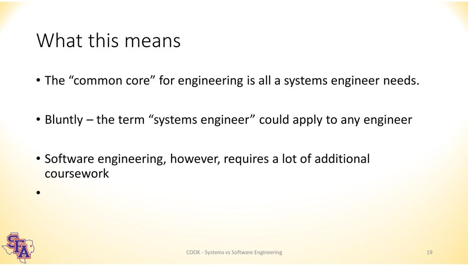 Bluntly the term systems engineer could apply to any engineer