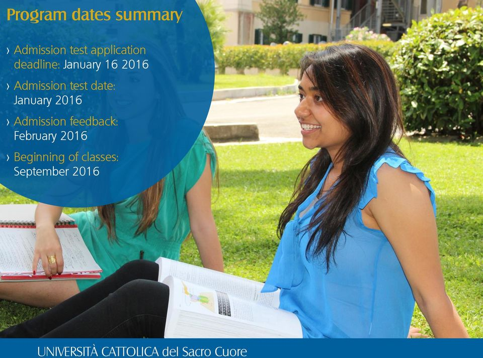 Admission test date: January 2016 > Admission