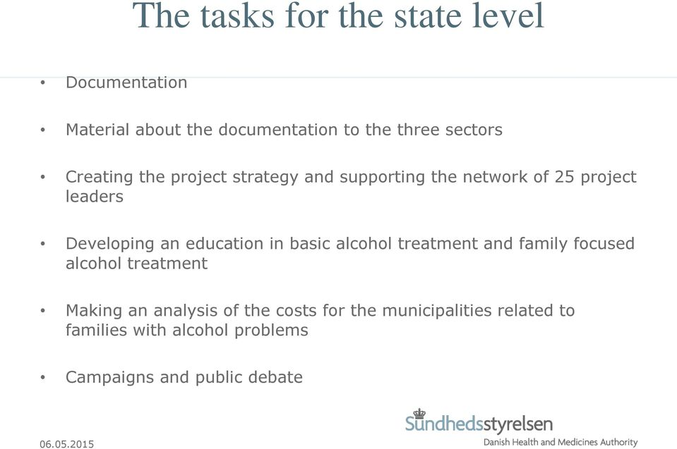 education in basic alcohol treatment and family focused alcohol treatment Making an analysis of