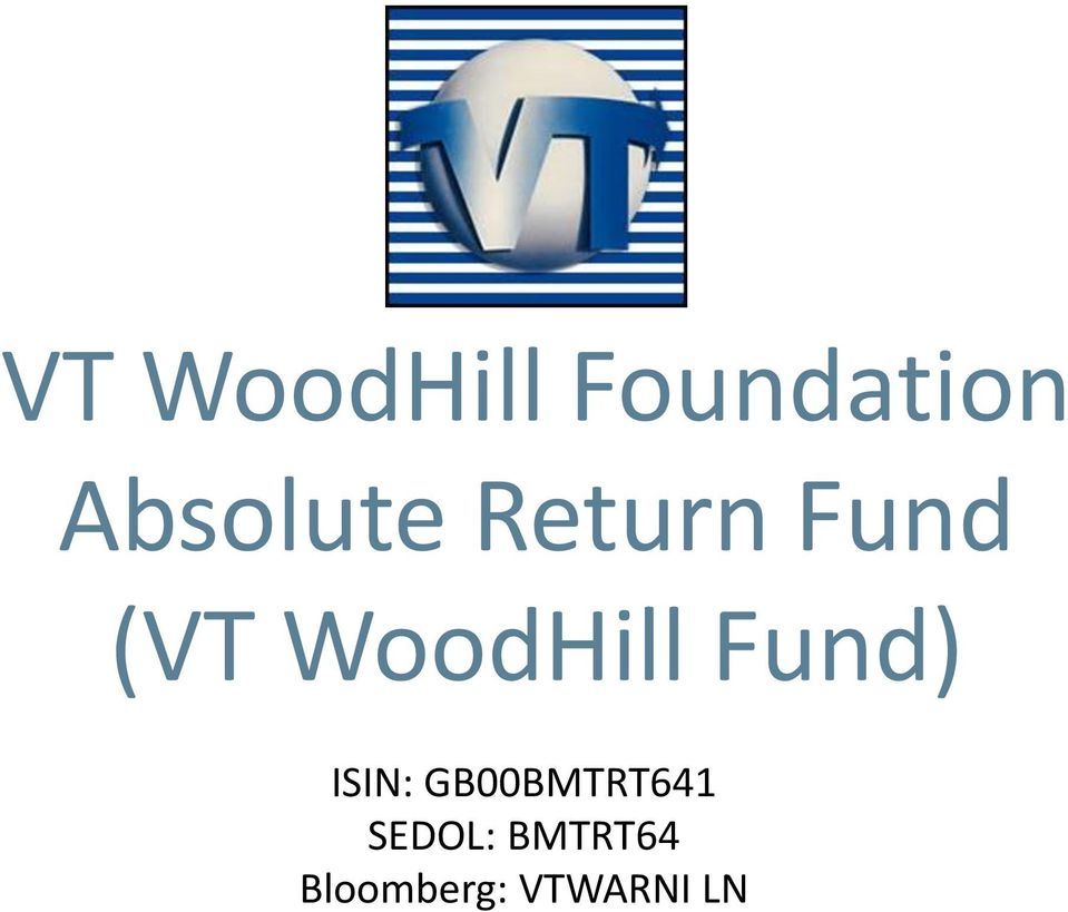 WoodHill Fund) ISIN:
