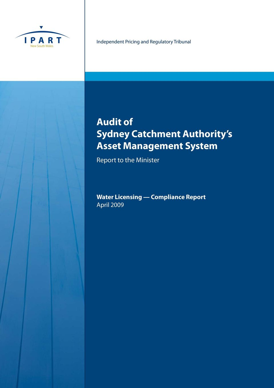 Management System Report to the Minister