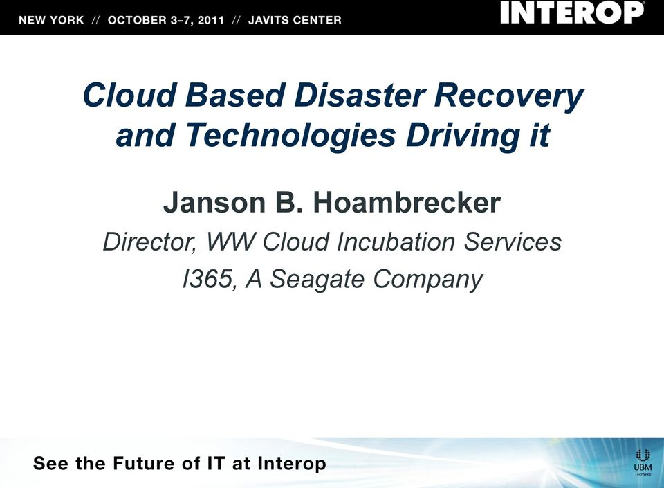 Hoambrecker Director, WW Cloud