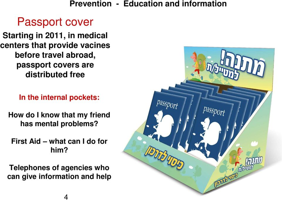 information In the internal pockets: How do I know that my friend has mental
