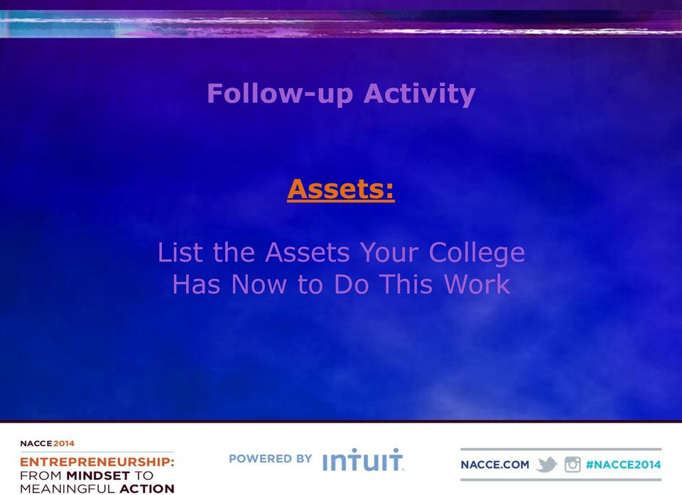 Assets Your College