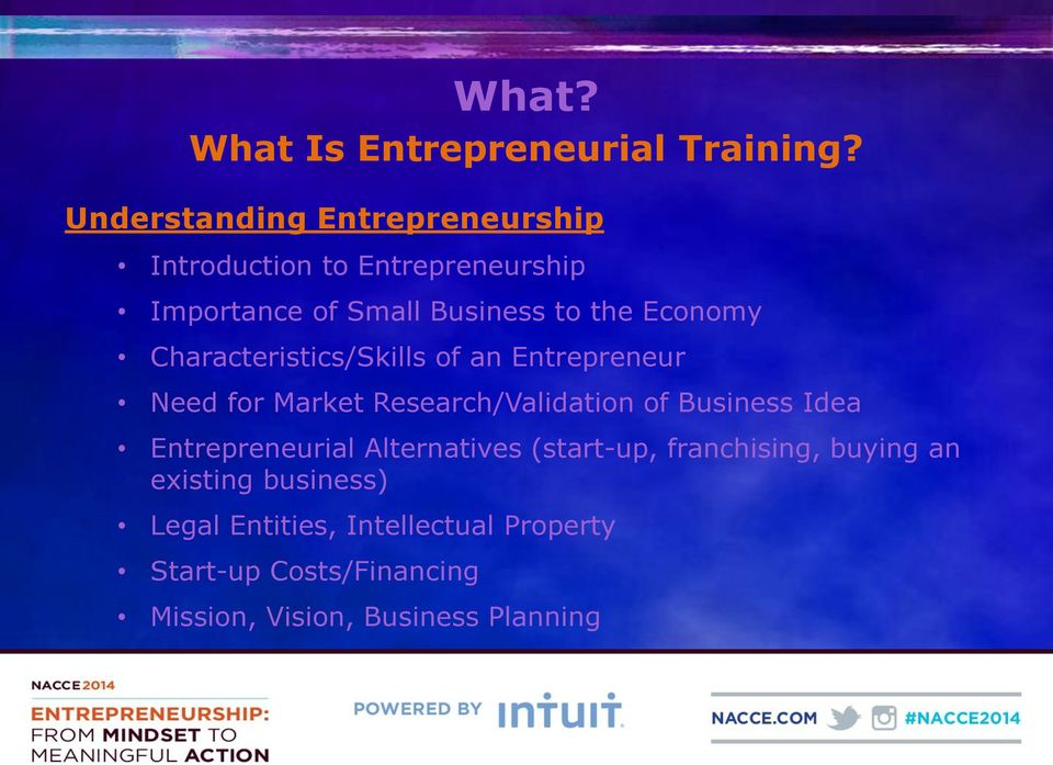 Economy Characteristics/Skills of an Entrepreneur Need for Market Research/Validation of Business Idea