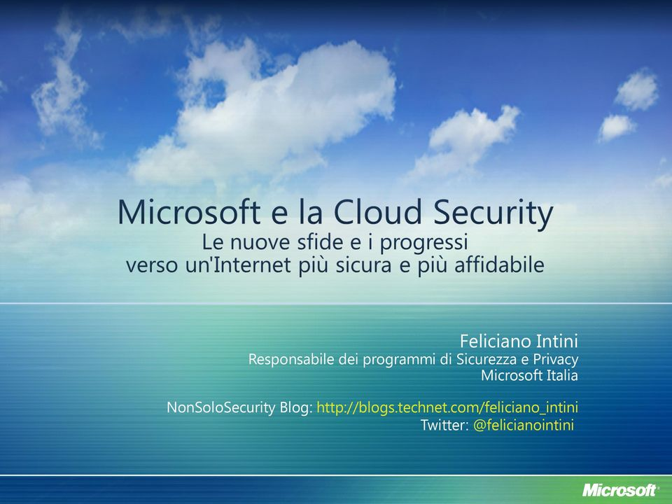 NonSoloSecurity Blog: http://blogs.technet.