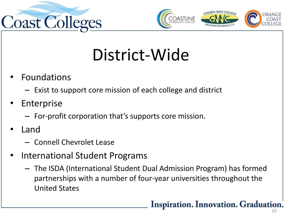 Land Connell Chevrolet Lease International Student Programs The ISDA (International