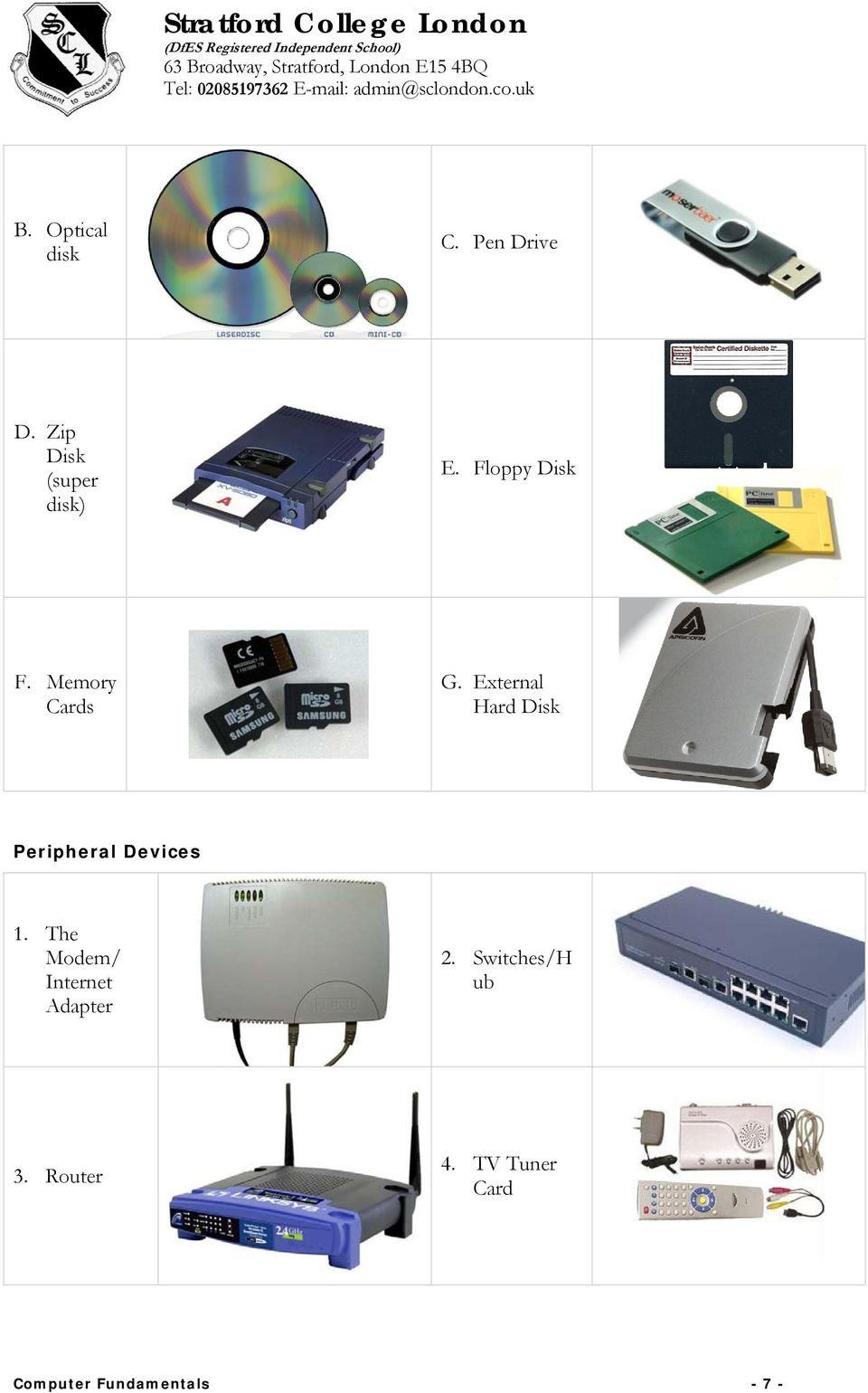 External Hard Disk Peripheral Devices 1.