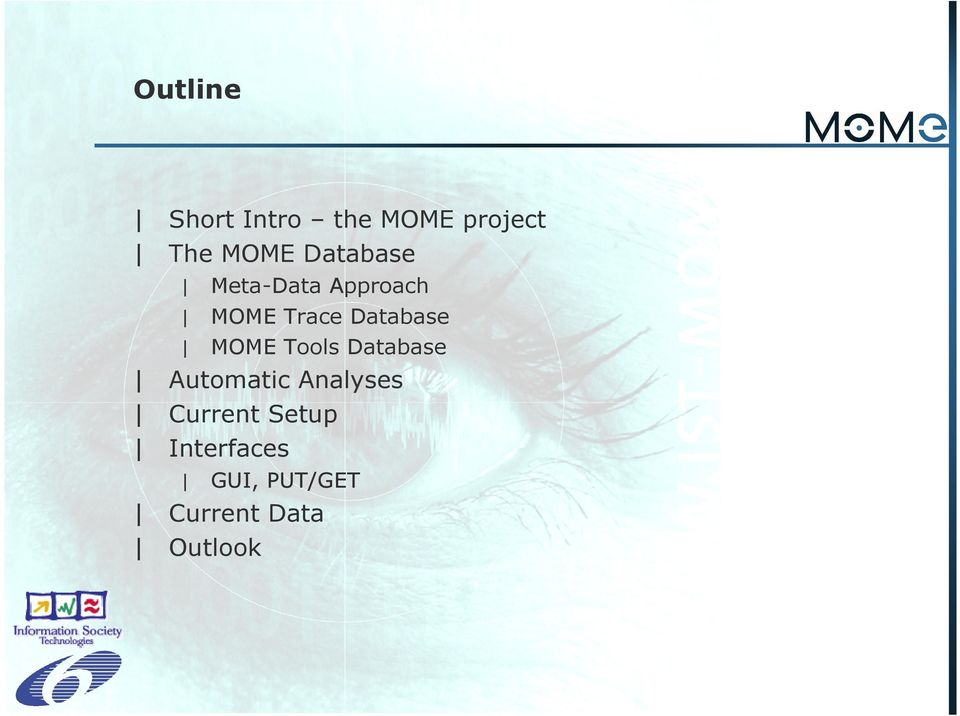 MOME Tools Database Automatic Analyses Current