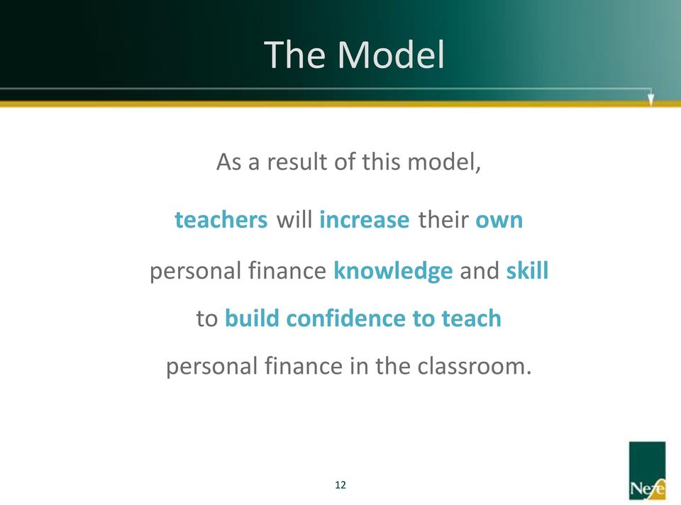 finance knowledge and skill to build