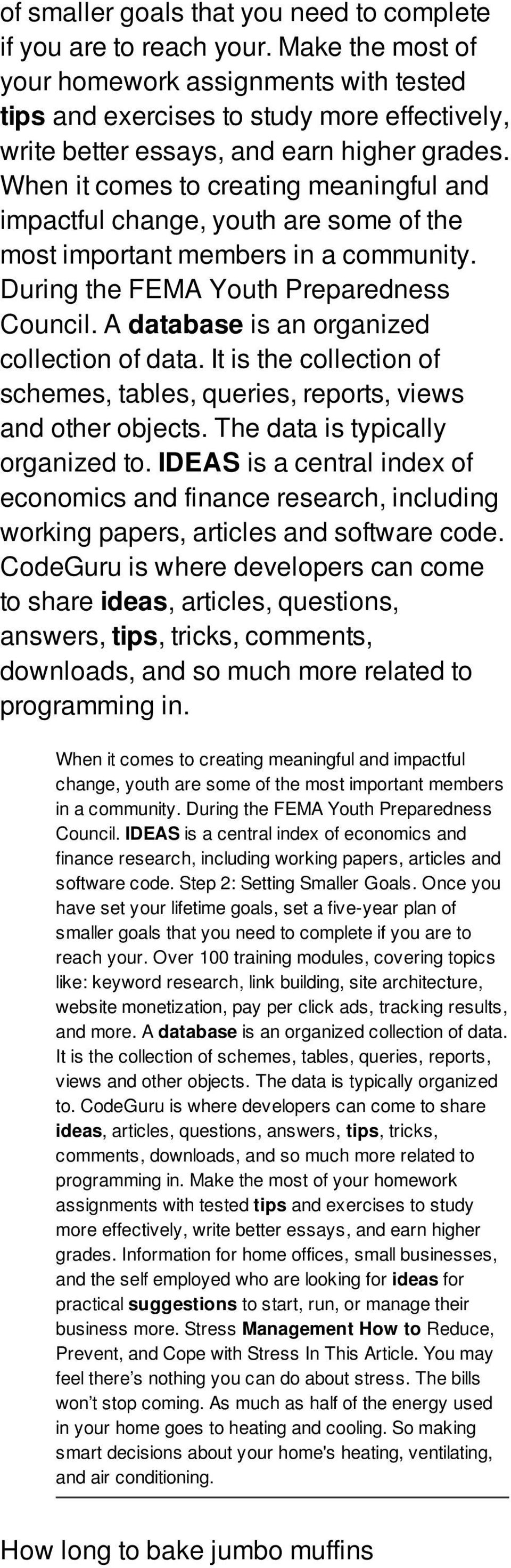 When it comes to creating meaningful and impactful change, youth are some of the most important members in a community. During the FEMA Youth Preparedness Council.