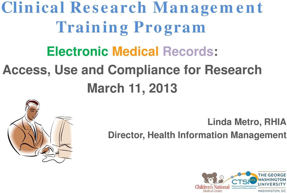 Compliance for Research March 11, 2013 Linda