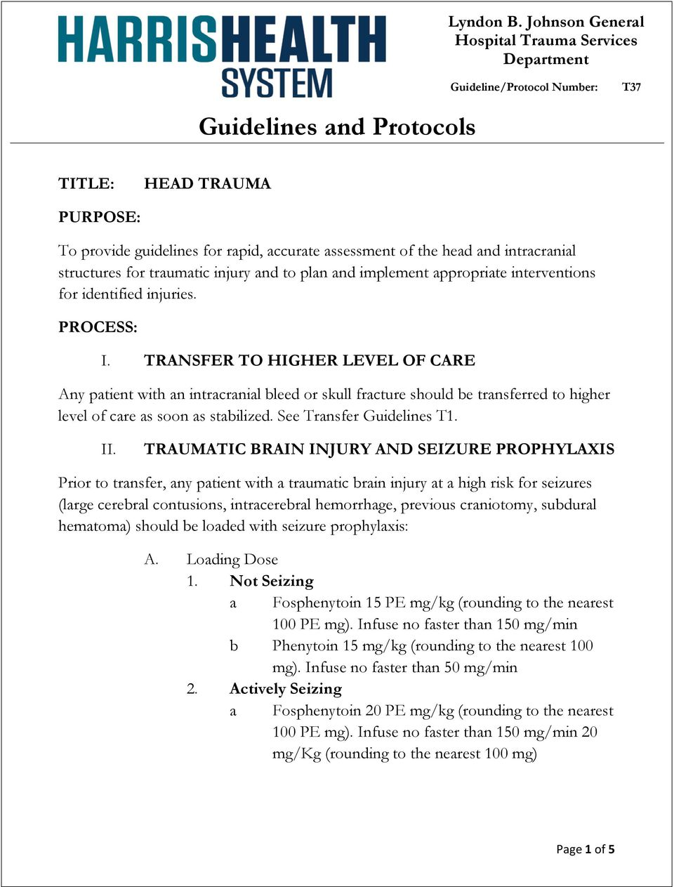 See Transfer Guidelines T1. II.