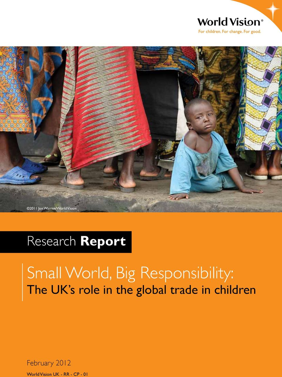 in the global trade in children World Vision UK