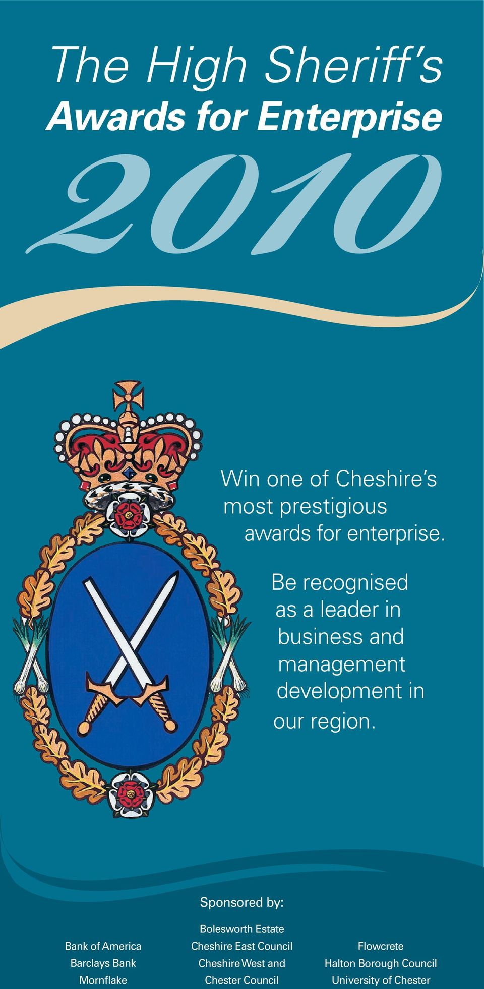 Be recognised as a leader in business and management development in our region.