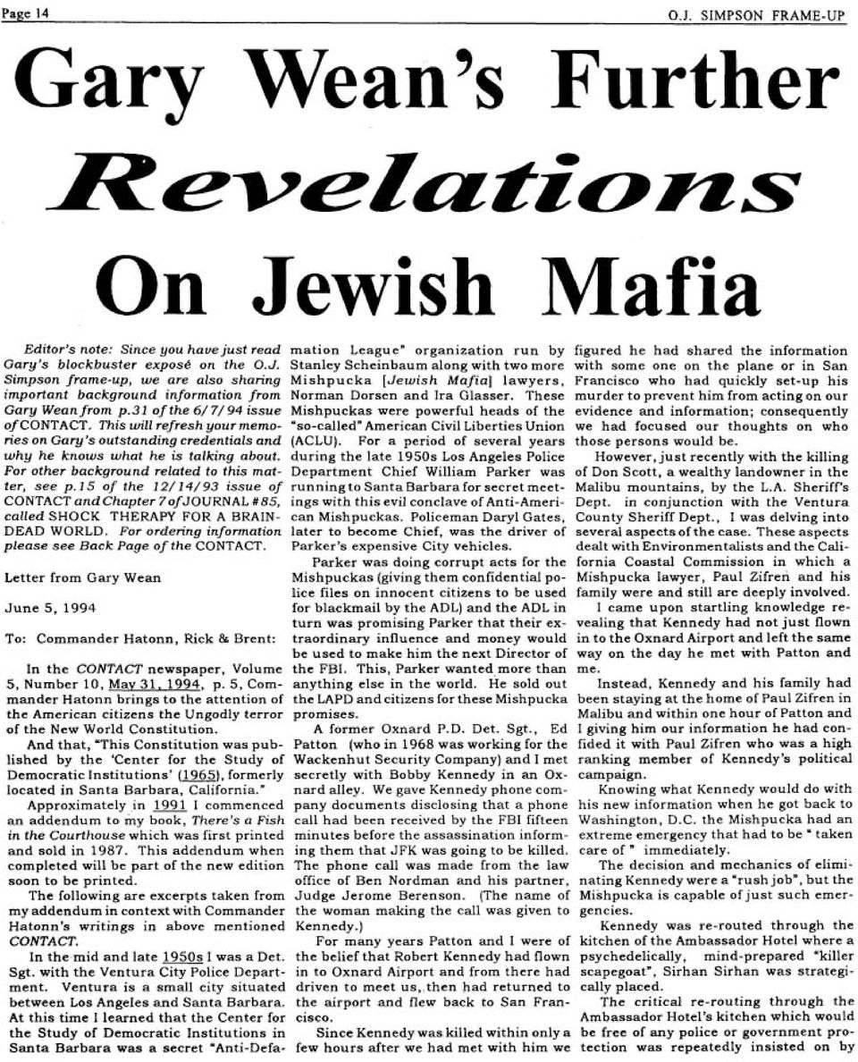 J. Stanley Scheinbaum along with two more with some one on the plane or in San Simpson frame-up, we are also sharing Mishpucka [Jewish Mafia] lawyers, Francisco who had quickly set-up his important