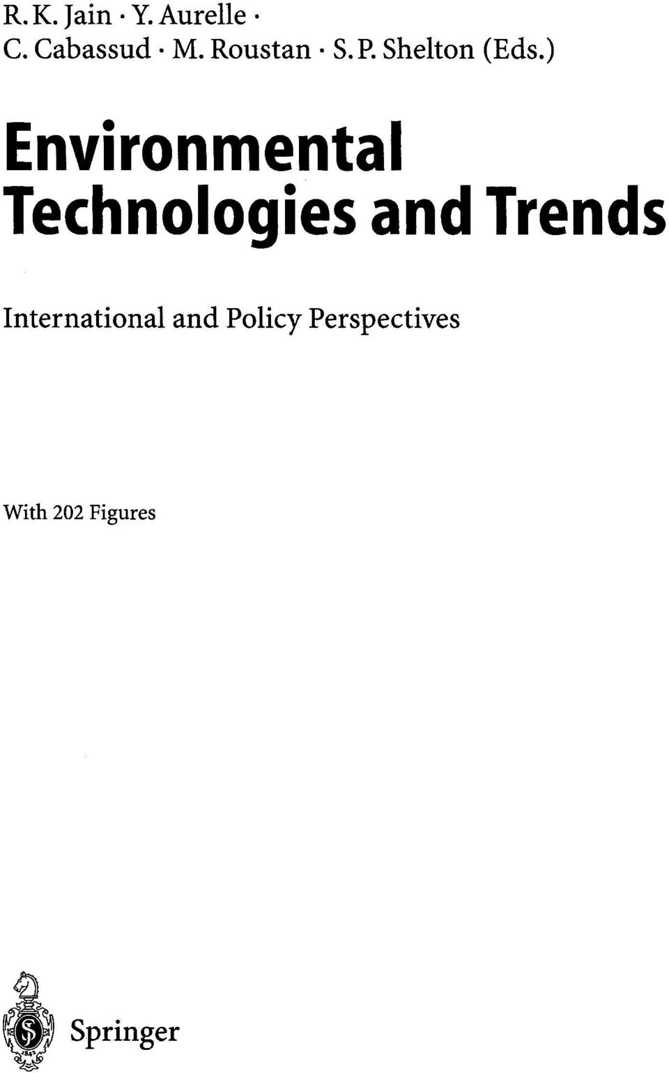 ) Environmental Technologies and Trends