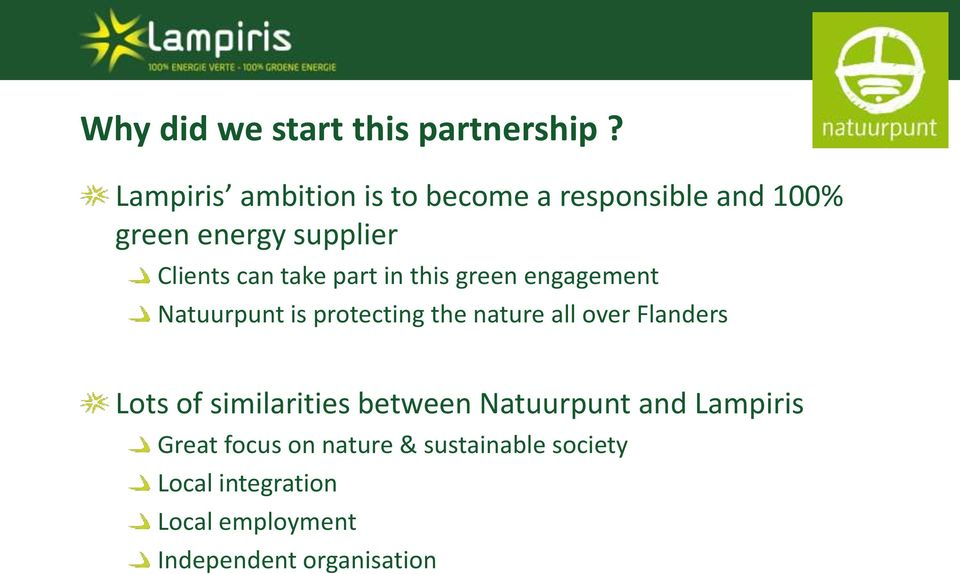 take part in this green engagement Natuurpunt is protecting the nature all over Flanders