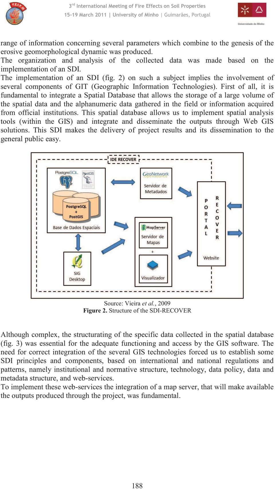 2) on such a subject implies the involvement of several components of GIT (Geographic Information Technologies).