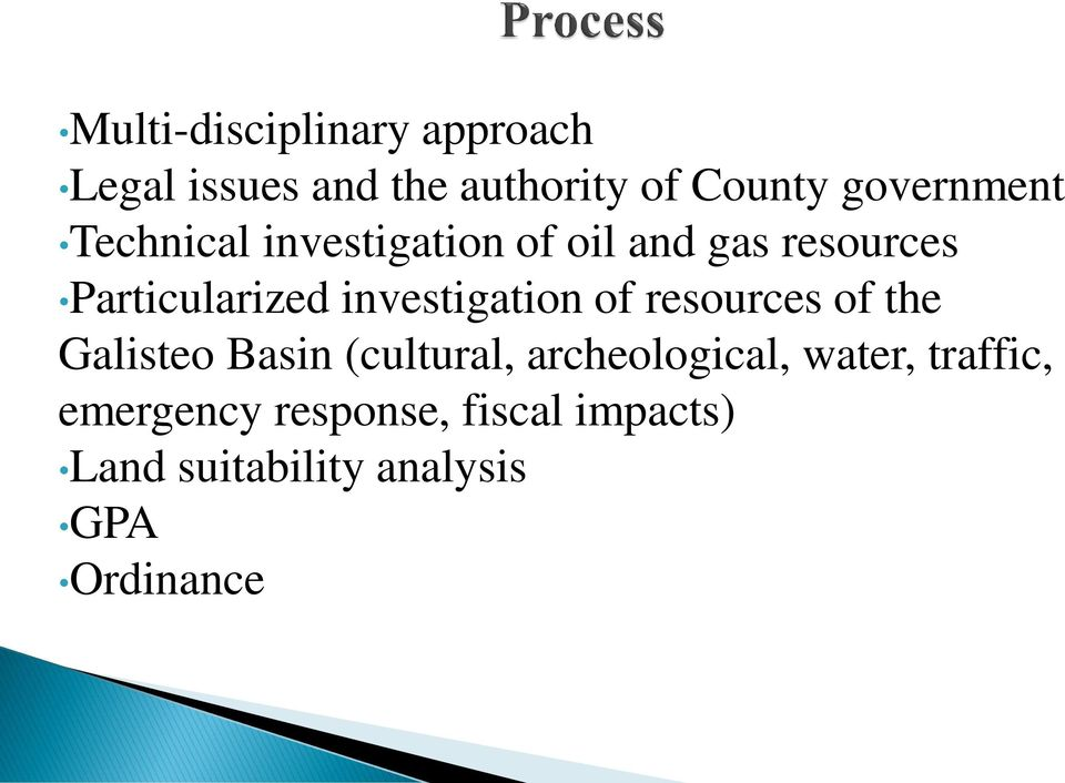investigation of resources of the Galisteo Basin (cultural, archeological,