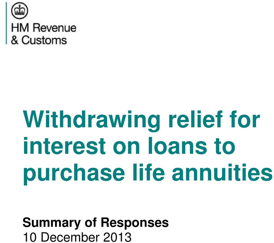 purchase life annuities
