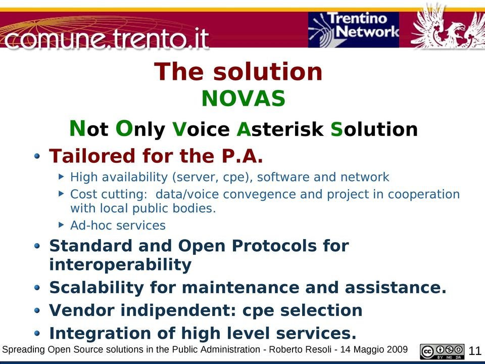 terisk Solution Tailored for the P.A.